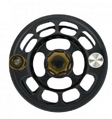 New $220 Ross Animas #11/12 Spare Spool Stealth Black W/ Moss -- Closeout!