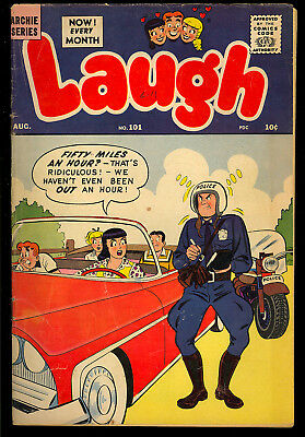 Laugh Comics #101 Nice Silver Age Archie Betty & Veronica Comic 1959 VG