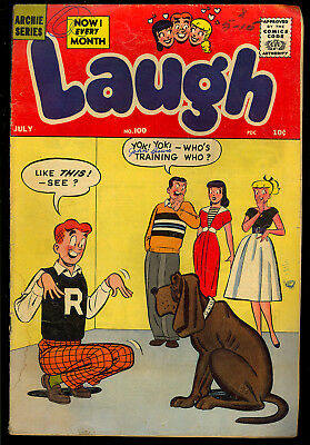 Laugh Comics #100, 114, 116 Archie GROUP (3 Comics) 1959 GD/VG