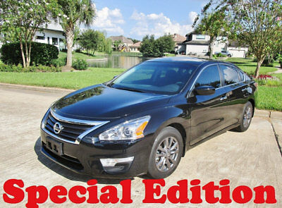 2015 Nissan Altima SPECIAL EDITION PACKAGE FLOOD FREE I GUARANTEE PECIAL EDITION  FLOOD FREE I GUARANTEE 12000 MILES LIKE NEW LOW SHIPPING