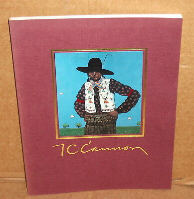1990 Native American A New View of the West by T.C. Cannon SC