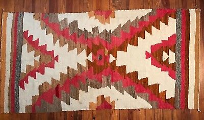 Far Out Navajo Rug with Unique Design, Great Provenance / Backstory, NR