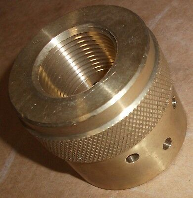 """Ansul 570517 1"""" 180˚ Sapphire Fire Suppression System Brass Discharge Nozzle"""