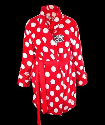 Betty Boop  Bathrobe Polka Dot  Design