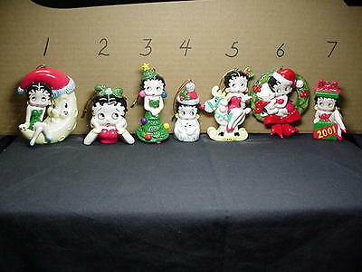 Betty Boop Ornament With Pudgy Design # 4 (Retired Item)