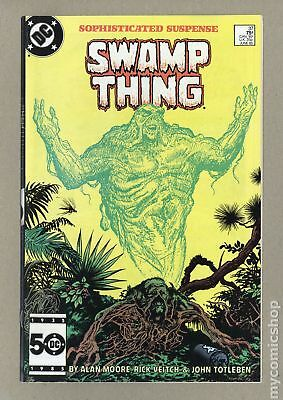 Swamp Thing (1982 2nd Series) #37 VF- 7.5