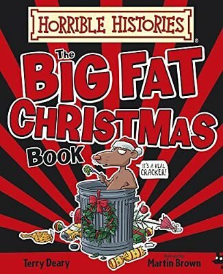 Big Fat Christmas Book (Horrible Histories)-Terry Deary, Martin Brown