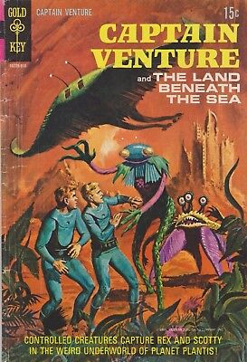 Captain Venture And The Land Beneath The Sea #2 1969 Gold Key Comics