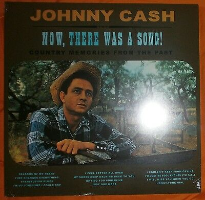 "JOHNNY CASH Now, there was a song! Country memories 1960/2014 Lp vinilo 12"" MINT"