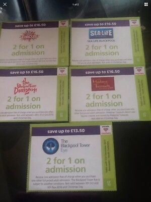 Blackpool Attraction Tickets