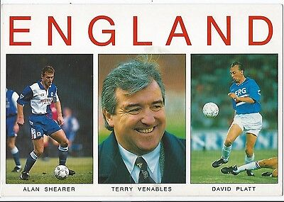 Post Cards Football England
