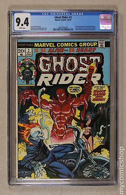 Ghost Rider (1973 1st Series) #2 CGC 9.4 0287302004