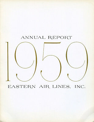 Eastern Air Lines 1959 Annual Report