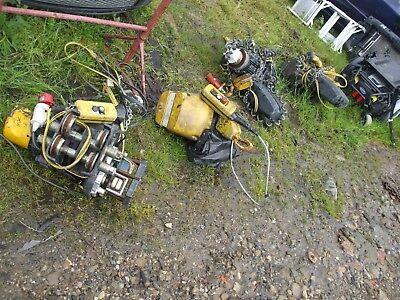 4X Morris Industrial Winch Hoist Trolley Electric Overhead Crane Remote Spares