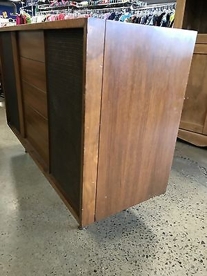 Vintage DANISH MODERN credenza mid century player Flat Screen TV Stand