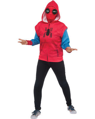 Child's Boys Spider-Man Homecoming Hoodie Sweats Top Costume