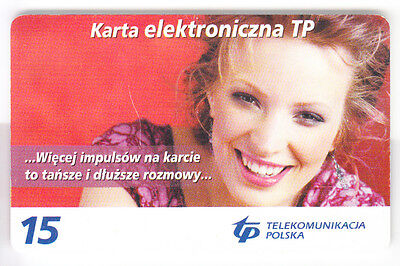 Europe  Telecarte / Phonecard .. Pologne 15Zt Tp Fille Sexy Girl 04/06 Chip/puce