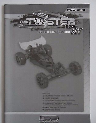 New LRP S10 Twister Buggy Build Instructions
