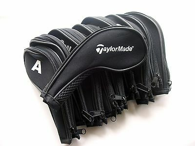 Taylormade Golf Club Iron Covers Zipped Headcovers