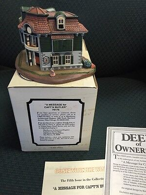 Structure #78175:  MESSAGE FOR CAPT'N  BUTLER (Gone With Wind) 1993 NIB