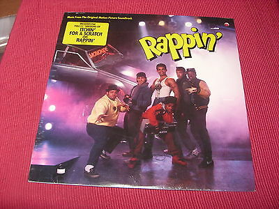 Rappin' Original Soundtrack US LP SEALED Force MDs, Mario Van Peebles etc