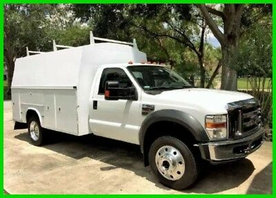 2008 Ford F550 Service Utility Truck New Ford Diesel Engine Automatic FLORIDA