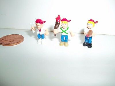 Vintage Mighty Max Figures, Gun, Torch, Wrench, 1992/1993 See Others & Combine