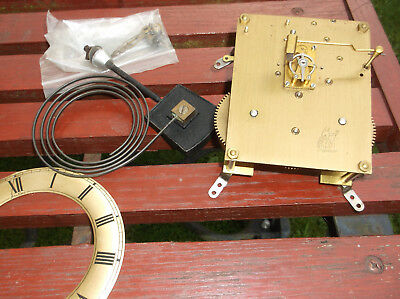 Perivale Platform Lever Clock Movement Working Order Hands Gong & Chapter Ring