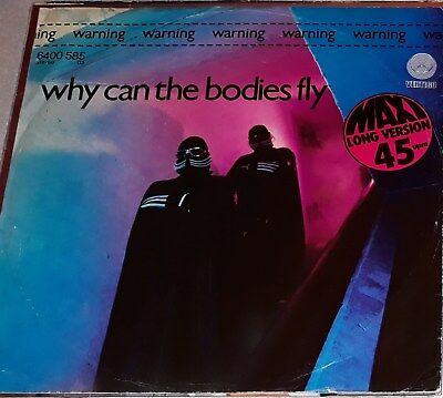 """Warning - Why Can The Bodies Fly (Raro Synth Discomix 12"""") Ascolta / Hear"""