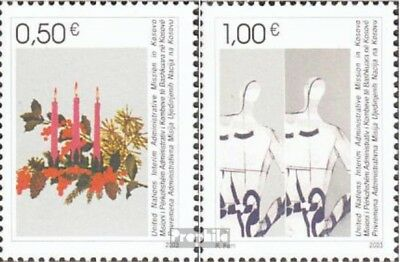 kosovo (UN-Administration) 16-17 fine used / cancelled 2003 christmas and Year