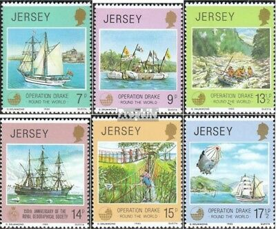 united kingdom-Jersey 228-233 (complete issue) unmounted mint / never hinged 198
