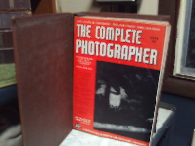 The Complete Photographer Magazine  55 Issues   1941-1943  Vintage  Photography