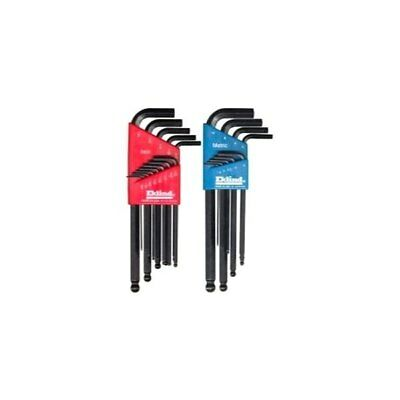 Eklind - 22 Piece Combination SAE and Metric Long Ball End Hexl Hex Key Sets