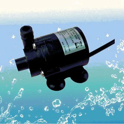 12V DC Brushless Small Water Pump Submersible Motor Pump 280L/H with Female Plug