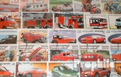 Motives 250 different Car and motor vehicles Stamps