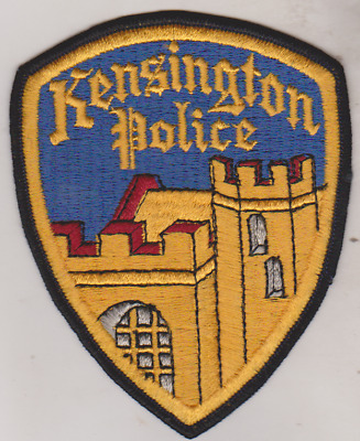 Kensington & Arcadia CA Police patches