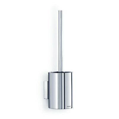 Blomus Design Toilet Brush with Wall Mount Nexio 68834 Stainless Steel Polished