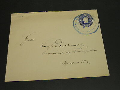 Colombia old stationery cover *19607