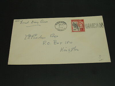 Jamaica 1956 FDC cover *19178