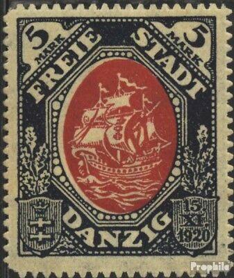 Gdansk 61 with puncture, perforation possibly. errors unmounted mint / never hin