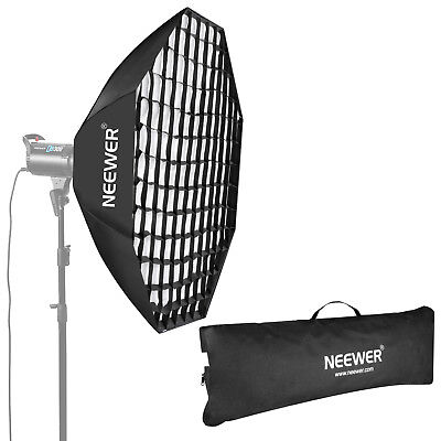 Neewer Portable Octagon Beehive Softbox with Grid Bowens Mount and Diffuser