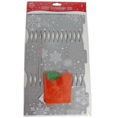 Tallon DIY 6 Pack Make your Own Christmas Cracker Kit - Silver