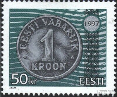 Estonia 308 (complete issue) unmounted mint / never hinged 1997 Currency Reform