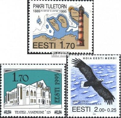 Estonia 256,257,258 (complete issue) unmounted mint / never hinged 1995 special