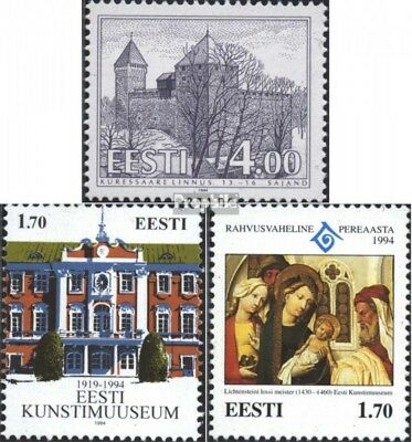 Estonia 237,238,239 (complete issue) unmounted mint / never hinged 1994 special