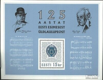 Estonia block7 (complete issue) unmounted mint / never hinged 1994 festival sing