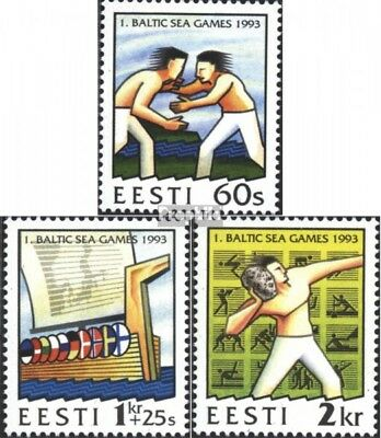 Estonia 207-209 (complete issue) unmounted mint / never hinged 1993 Nationalepos
