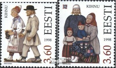 Estonia 330-331 (complete issue) unmounted mint / never hinged 1998 Costumes