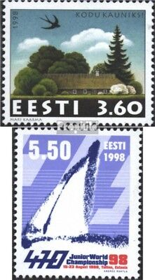 Estonia 327,329 (complete issue) unmounted mint / never hinged 1998 special stam