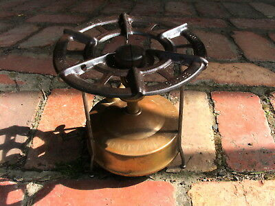 Aust. Army D^d Companion Brand Gas Stove Brass Complete
